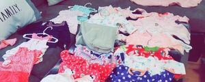 25 piece lot 3 & 6 month babygirl clothes